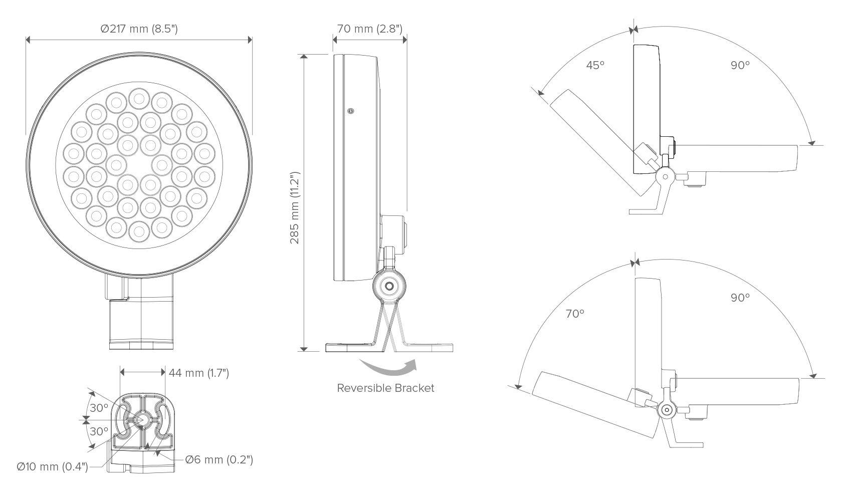 Ls5030 Woda Underwater Luminaire Lumascape Rgbw 010v Led Dimmer Controller Sr2811110v Specifications